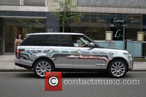 Theo Paphitis chrome 'Range Rover - Boux Avenue press launch party at The Sanderson Hotel - London, United Kingdom -...