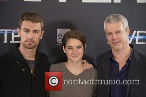 Theo James, Shailene Woodley and Neil Burger