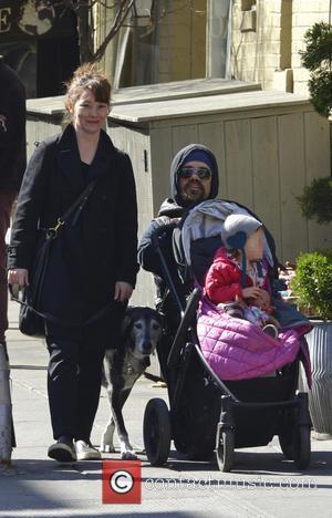 Peter Dinklage, Erica Schmidt and Zelig Dinklage - Peter Dinklage and family out and about in Manhattan - New York...