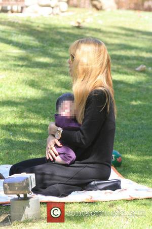 Rachel Zoe and Kai Berman - Rachel Zoe and Rodger Berman take their sons Skylar and Kai on a family...