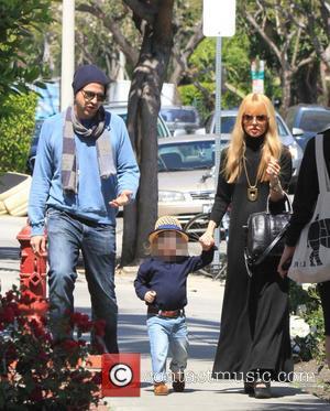 Rachel Zoe and Rodger Berman - Rachel Zoe and Rodger Berman take their sons Skylar and Kai on a family...