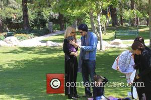 Rachel Zoe, Rodger Berman, Skyler Berman and Kai Berman - Rachel Zoe and Rodger Berman take their sons Skylar and...