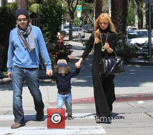 Rachel Zoe, Rodger Berman and Skyler Berman - Rachel Zoe and Rodger Berman take their sons Skylar and Kai on...