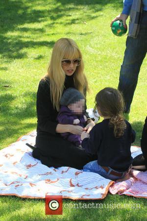 Rachel Zoe, Skyler Berman and Kai Berman - Rachel Zoe and Rodger Berman take their sons Skylar and Kai on...