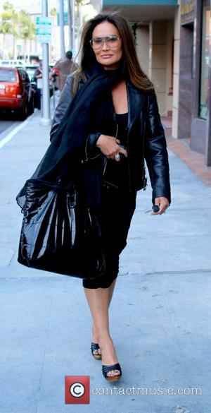 Tia Carrere - Tia Carrere leaving My Blow and Dry on Bedford Drive in Beverly Hills - Beverly Hills, California,...