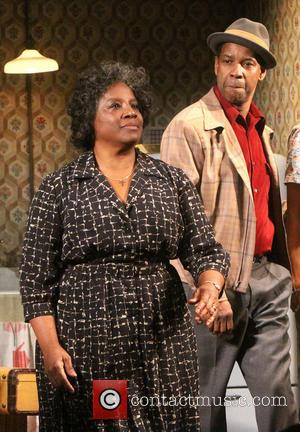 Latanya Richardson Jackson and Denzel Washington