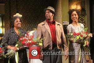 Latanya Richardson Jackson, Denzel Washington and Sophie Okonedo