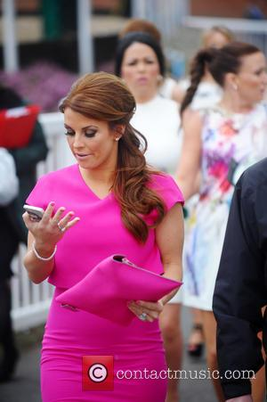 Coleen Rooney - Crabbie's Grand National at Aintree - Day 1 - Liverpool, United Kingdom - Thursday 3rd April 2014