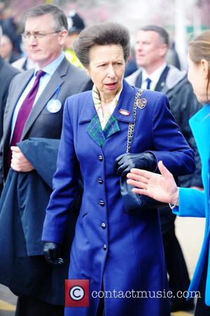 Princess Anne, Anne and Princess Royal - Crabbie's Grand National at Aintree - Day 1 - Liverpool, United Kingdom -...
