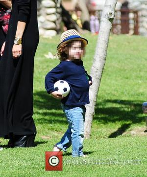 Skylar Berman - Rachel Zoe and Rodger Berman take their sons Skylar and Kai on a family outing at the...