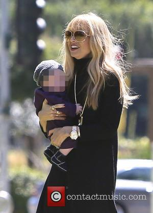 Rachel Zoe and Kaius Berman - Rachel Zoe and family seen spending the afternoon at the park. - Los Angeles,...