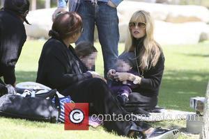 Rachel Zoe, Skyler Berman and Kaius Berman - Rachel Zoe and family seen spending the afternoon at the park. -...