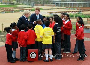 Boris Johnson and Prince Harry