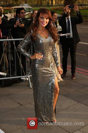 Lizzie Cundy - The Asian Awards 2014 held at Grosvenor House Hotel - Arrivals - London, United Kingdom - Friday...