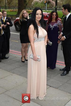 Maria Kouka - The Asian Awards 2014 held at Grosvenor House Hotel - Arrivals - London, United Kingdom - Friday...