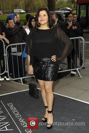 Nina Wadia - The Asian Awards 2014 held at Grosvenor House Hotel - Arrivals - London, United Kingdom - Friday...