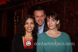 Ciara Renee, Andrew Lippa and Julia Murney