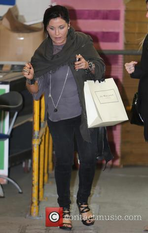 Jessie Wallace - Jessie Wallace outside the ITV studios - London, United Kingdom - Friday 4th April 2014