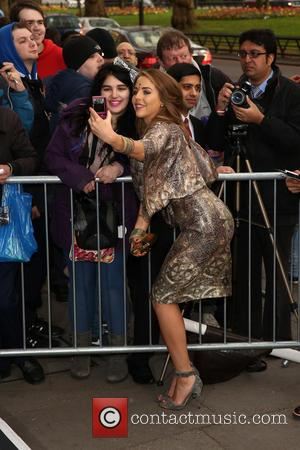 Lydia Bright and Lydia Rose Bright - The Asian Awards 2014 held at Grosvenor House Hotel - Arrivals - London,...