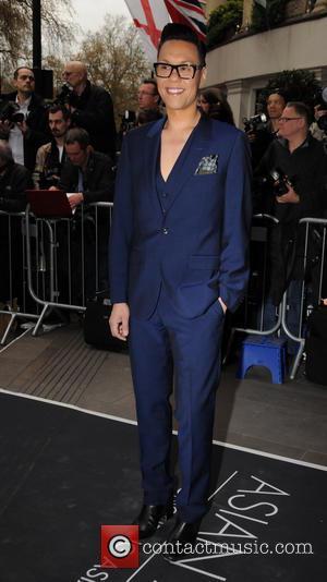 Gok Wan - The Asian Awards 2014 held at Grosvenor House Hotel - Arrivals - London, United Kingdom - Friday...