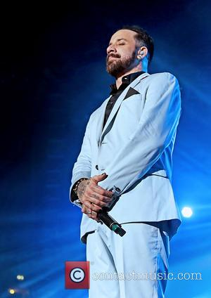 A. J. McLean - Backstreet Boys (BSB) Performing at Manchester Phones4U Arena - Manchester, United Kingdom - Saturday 5th April...
