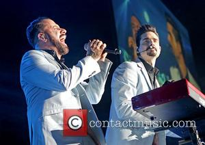 Kevin Richardson and A. J. Mclean