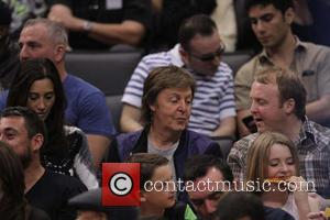 Paul Mccartney, Nancy Shevell and James Mccartney