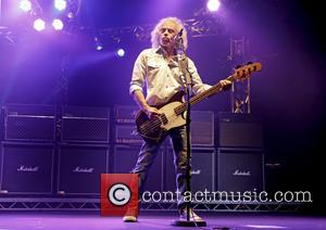 Alan Lancaster - Status Quo performing live on stage on their 'Frantic Four' tour at Manchester O2 Apollo - Manchester,...