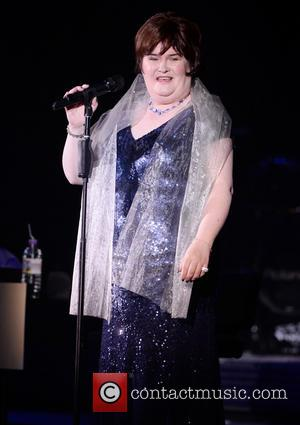 Susan Boyle - Susan Boyle performing live in cocnert at the Hammersmith Apollo - London, United Kingdom - Sunday 6th...