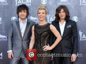 The Band Perry - 49th Annual Academy of Country Music Awards - Arrivals - Las Vegas, Nevada, United States -...