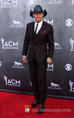 Tim McGraw - 49th Annual Academy of Country Music Awards - Arrivals - Las Vegas, Nevada, United States - Sunday...