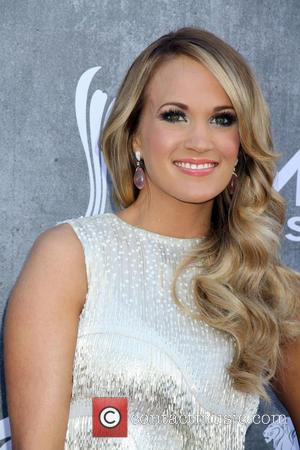 Carrie Underwood - 49th Annual ACM Awards 2014 held at MGM Grand Garden Arena inside MGM Grand Hotel & Casino...