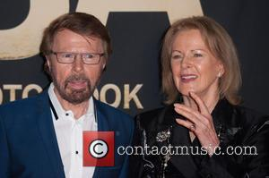 Björn Ulvaeus and Anni-Frid Lyngstad - ABBA - The International Anniversary Party marking the 40th Anniversary of their Eurovision Victory...