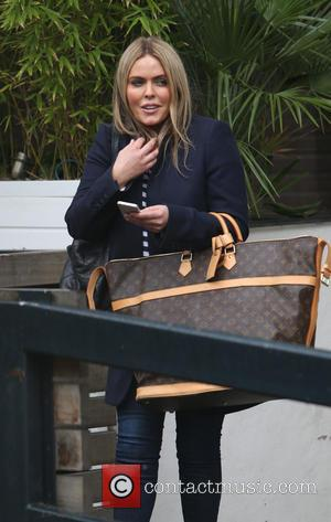 Patsy Kensit - Patsy Kensit outside ITV Studios - London, United Kingdom - Monday 7th April 2014