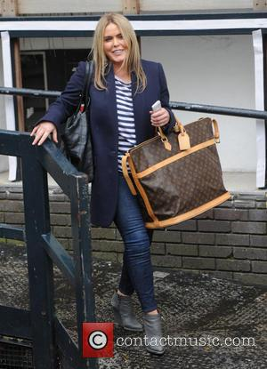 Patsy Kensit - Patsy Kensit seen leaving itv studios in london - London, United Kingdom - Monday 7th April 2014