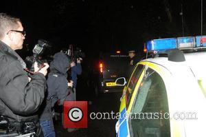 Police activity outside the home of Peaches Geldof in Wrotham, Kent, where she was found dead at the age of...