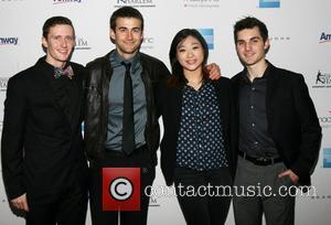 Jeremy Abbot, Ryan Bradly, Mirai Nagasu and Joshua Farris