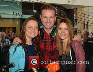 Nicky Byrne, Vicky Binns and Jenny Greene