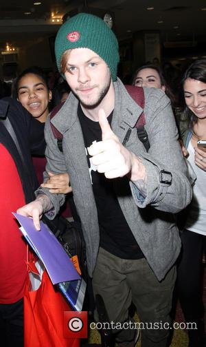 Jay McGuiness and The Wanted - The Wanted arrive at John F. Kennedy International Airport (JFK) on a flight from...