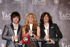 The Band Perry - 2014 Academy of Country Music Press Room - Las Vegas, Nevada, United States - Monday 7th...
