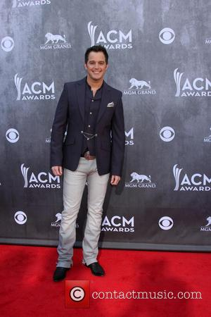 Easton Corbin - 2014 Academy of Country Music Arrivals - Las Vegas, Nevada, United States - Monday 7th April 2014