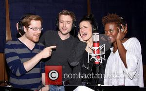 Anthony Rapp, James Snyder, Idina Menzel and LaChanze - The recording session for the Broadway musical If/Then held at MSR...