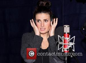 Idina Menzel - The recording session for the Broadway musical If/Then held at MSR Recording studios. - New York, New...