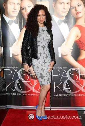 Natalie Gumede - Katya and Pasha West End show - Gala night held at the Lyric Theatre - Arrivals -...