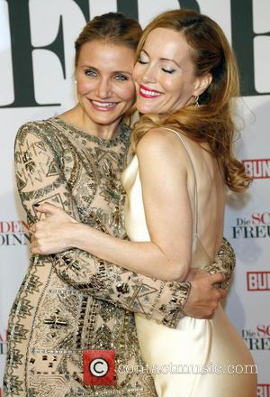 Cameron Diaz and Leslie Mann - German premiere of 'The Other Woman' held at Mathaeser Filmpalast - Arrivals - Munich,...