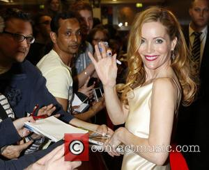 Leslie Mann - German premiere of 'The Other Woman' held at Mathaeser Filmpalast - Arrivals - Munich, Bavaria, Germany -...