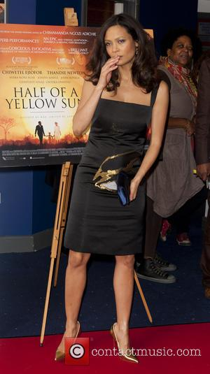 Thandie Newton - U.K. film premiere of 'Half of a Yellow Sun' held at Odeon Cinema Streatham - Arrivals -...