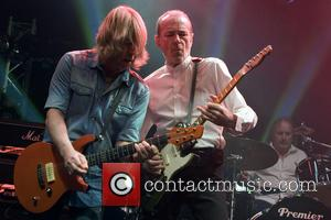 Rick Parfitt and Francis Rossi - Status Quo performing live on stage at the O2 Academy Glasgow - Glasgow, Scotland,...