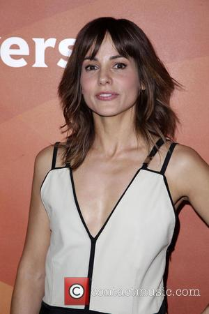 Stephanie Szostak - Celebrities pose at 2014 NBCUniversal Summer Press Day at The Langham, Hunington Hotel and Spa in Pasedena....