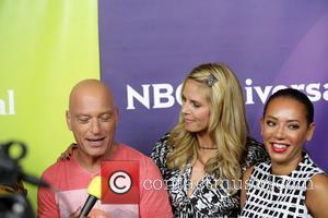 Howie Mandel, Heidi Klum and Mel B